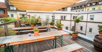 Babelfish Hostel - Wurzburg - Balcony