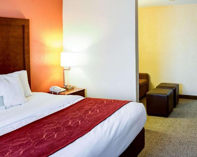 Comfort Suites - Omaha - Bedroom