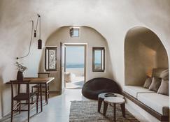 Vora - Imerovigli - Sala de estar