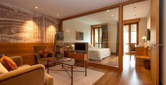 Gran Hotel La Perla - פאמפלונה - סלון