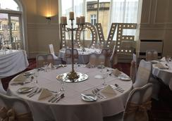 Royal Kings Arms Hotel - Lancaster - Restaurante