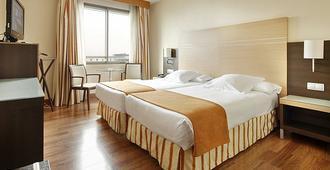 ホテル ブランカ デ ナヴァラ - パンプローナ - 寝室