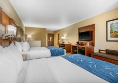 Comfort Suites - Cedar Falls - Bedroom