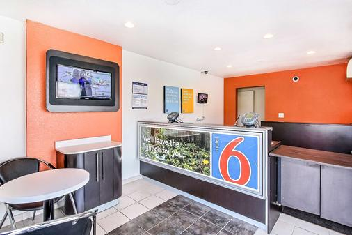 Motel 6 Sunnyvale South - Sunnyvale - Front desk