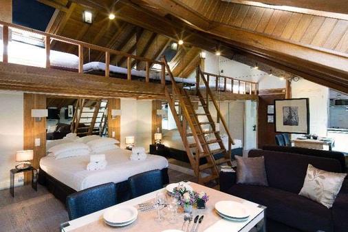 多爾羅浮宮獅子酒店 - 巴黎 - 巴黎 - 臥室