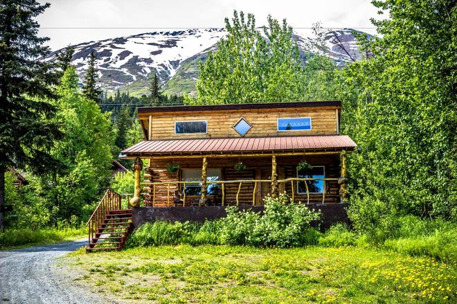 Midnight Sun Log Cabins - Moose Pass - Edificio