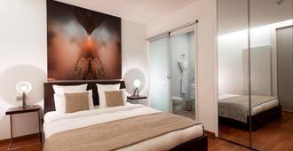 La Cour Des Augustins Boutique Gallery Design Hotel - Geneva - Bedroom