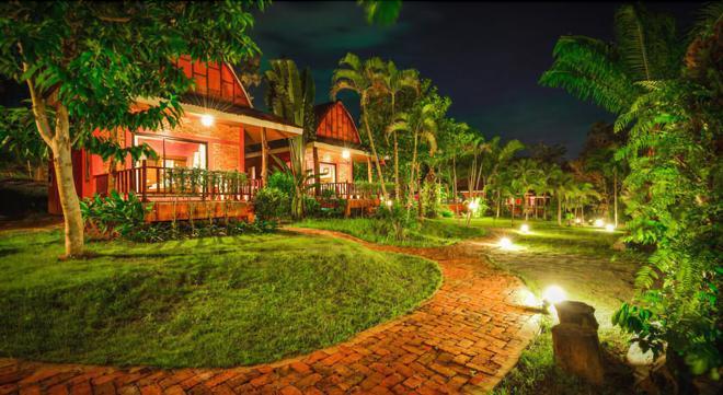 蘭格西曼度假酒店 - 喀比 - 奧南海灘 - 室外景