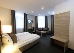 Top Hotel Hohenstaufen - Кобленц - Спальня