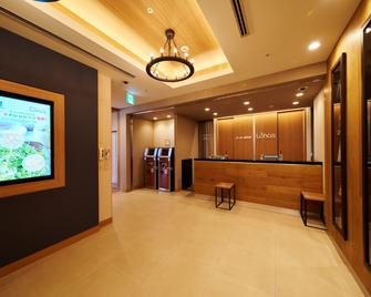 Super Hotel Lohas Akasaka - Tokyo - Front desk