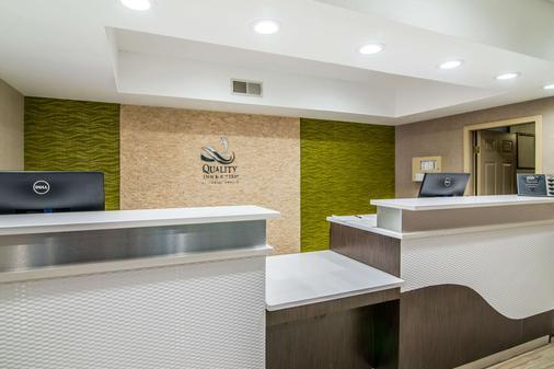 Quality Inn & Suites - Alamogordo - Rezeption