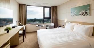 호텔 더본 제주 - 서귀포시 - 침실