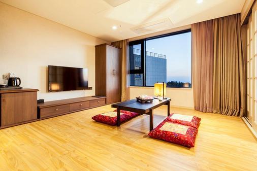 Hotel The Born Jeju - Seogwipo - Ruokailuhuone