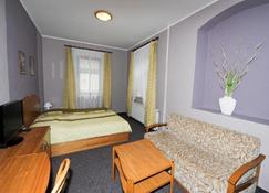 Hotel U Dvou Medvidku - Komotau - Schlafzimmer