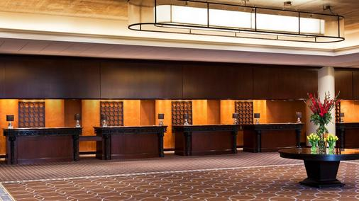 Sheraton New Orleans Hotel - New Orleans - Front desk