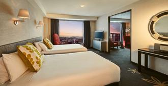 Skycity Hotel - אוקלנד - חדר שינה