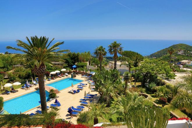 聖尼古拉溫泉酒店 - 福利奧迪伊斯基亞 - 福利奧 - 游泳池