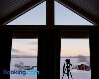 Visit Inari Cabins - Inari - Living room
