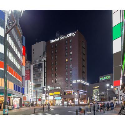 池袋太陽城酒店 - 東京 - 建築
