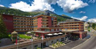 Grischa - Das Hotel Davos - דאבוס - בניין
