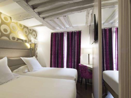 Hotel Jacques de Molay - Pariisi - Makuuhuone