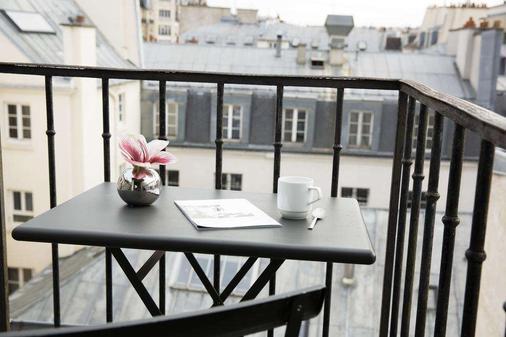 Hotel Jacques de Molay - Pariisi - Parveke