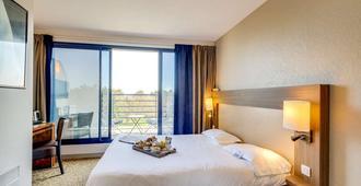 川薩特布里特酒店 - 聖馬洛 - 聖馬洛 - 臥室