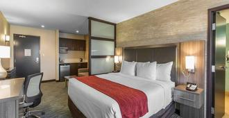 Comfort Inn & Suites Airport North - Calgary - Bedroom