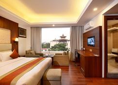 庫瑪里精品酒店 - 加德滿都 - 臥室