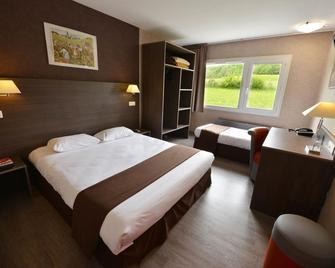 Hôtel Du Val Vert - Pouilly-en-Auxois - Bedroom
