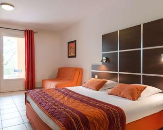 The Originals City, Hôtel Côté Sud, Marseille Est (Inter-Hotel) - Allauch - Bedroom