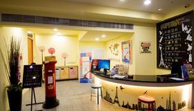 Ximen Holiday Fun Hotel - Taipéi - Recepción