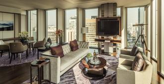 首爾四季酒店 - 首爾 - 客廳
