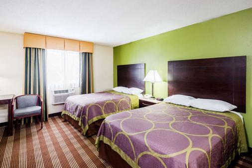 Super 8 by Wyndham Bangor - Bangor - Bedroom