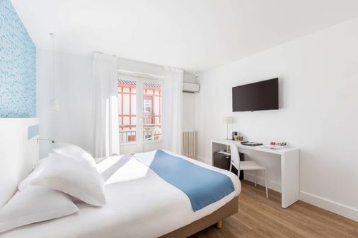 科馬利斯西佳酒店 - 比亞里茲 - 比亞里茨 - 臥室