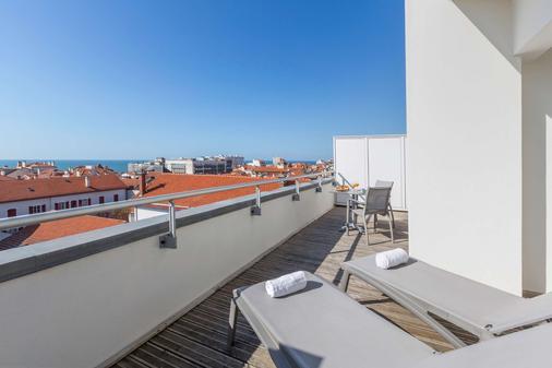 科馬利斯西佳酒店 - 比亞里茲 - 比亞里茨 - 陽台