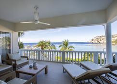 Blue Bay Beach Apartments - Sint Michiel - Balkon