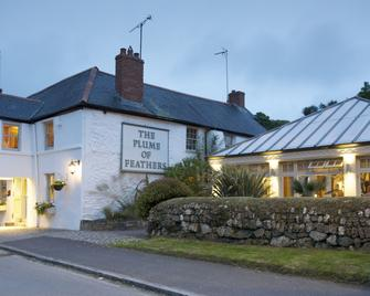 The Plume of Feathers - Newquay - Building