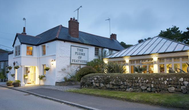 The Plume of Feathers - Newquay - Rakennus