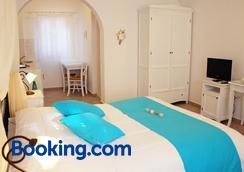 聖托里尼遐想酒店 - 聖托里尼 - 菲羅斯特法尼 - 臥室