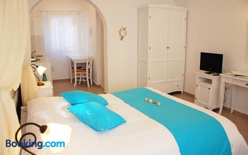 Reverie Santorini Hotel - Firostefani - Phòng ngủ