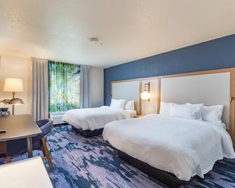 Fairfield Inn and Suites by Marriott Tampa North - Temple Terrace - Спальня