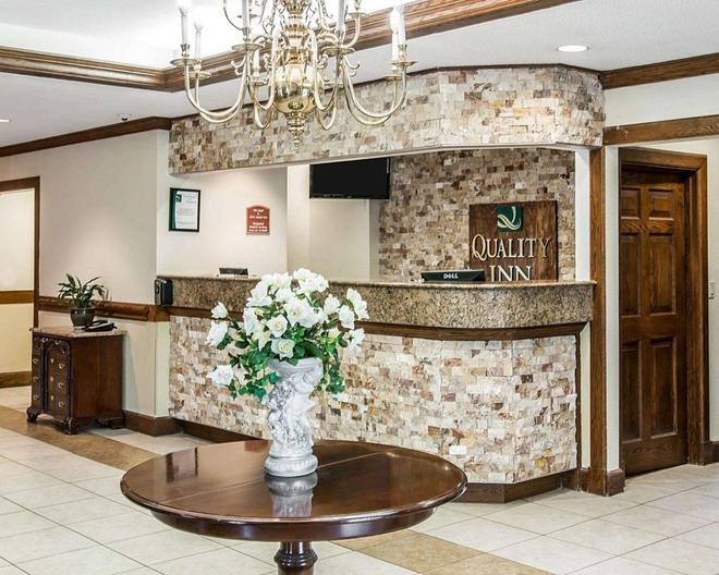 Quality Inn Southfield - Southfield - Rezeption
