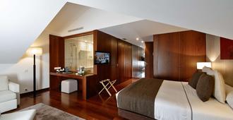 Hotel Carris Porto Ribeira - פורטו - חדר שינה