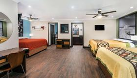 奧斯丁大學市中心速 8 酒店 - 奥斯汀 - 奧斯汀 - 臥室