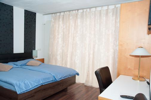 白馬酒店 - 巴塞爾 - 臥室
