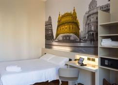B&B Hotel Genova - Genua - Schlafzimmer