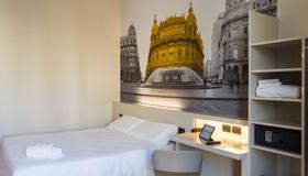 B&B Hotel Genova - Genoa - Bedroom