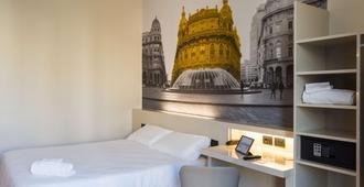 B&B Hotel Genova - ג'נואה - חדר שינה