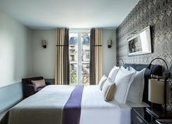 Hotel Aiglon - Paris - Schlafzimmer